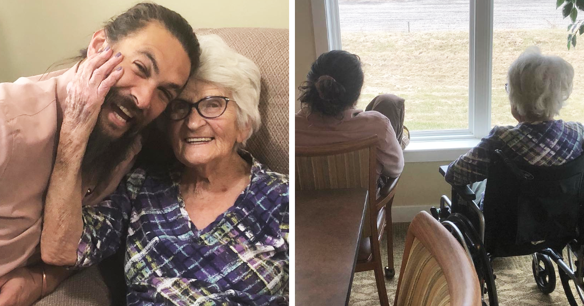 Jason Momoa's Photos With His Grandma Will Make You Fall In Love With Him Even More