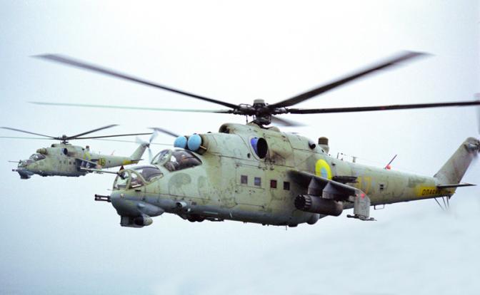 Украина учится бомбить Донбасс