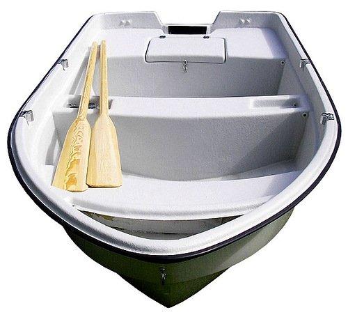 алюминий или пластик лодки