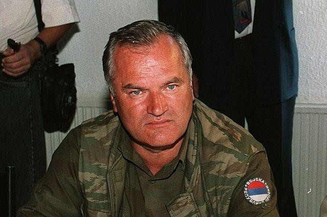 Россия выступила в поддержку сербского генерала Ратко Младича