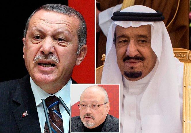 Эрдоган требует от Короля Саудовской Аравии судить виновных в смерти Хашукджи в Турции