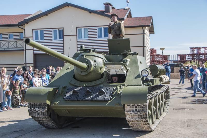 В России появился единственный в мире рабочий экземпляр СУ-85