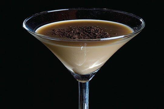 Вкусный шоколадный ликер быстрого приготовления