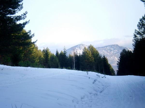 Южный Урал. НП Таганай. На лыжах до приюта.