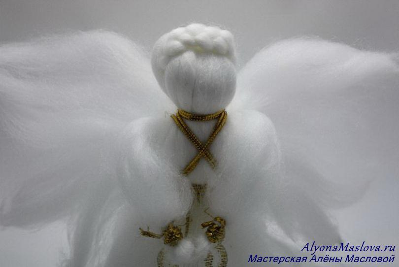 Ангел из шерсти