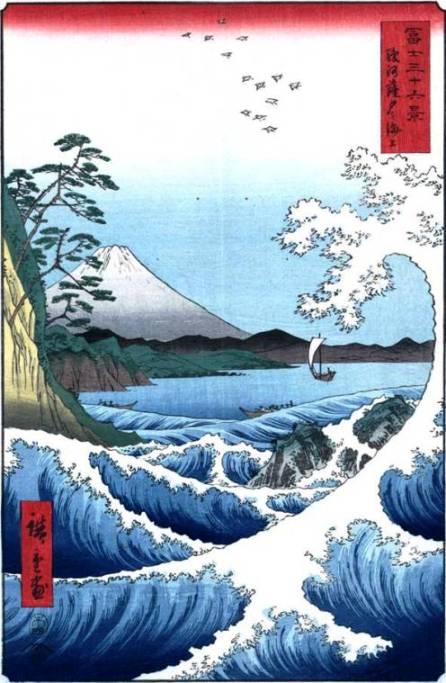 """Японское искусство гравюры. """"Плывущие миры"""" художника Утагава Хиросигэ"""
