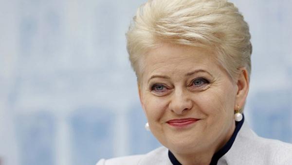 Глава Литвы наперекорЕС всецело поддерживает санкции США против России