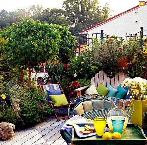 «Наружная гостиная» — подборка идей дизайна террасы