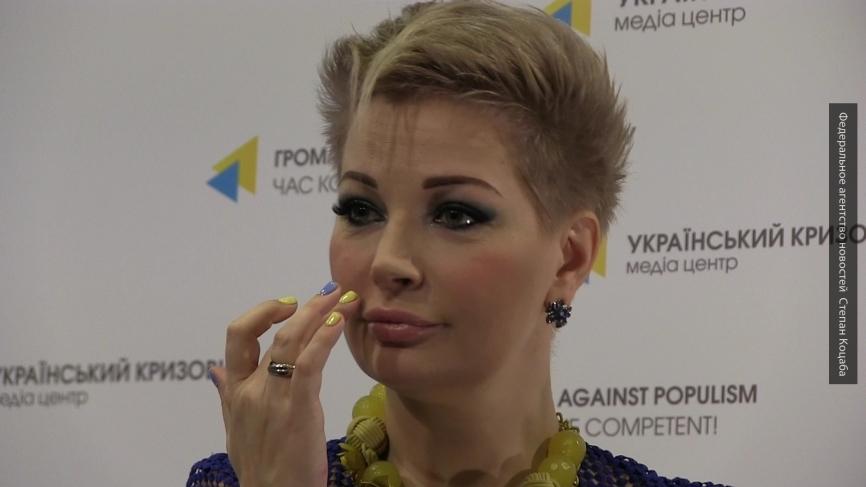 Максакова обрушилась с критикой на своих детей за выступление в Крыму