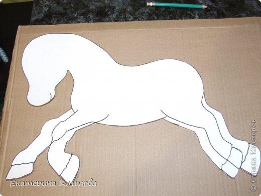 Как сделать лошадку технология