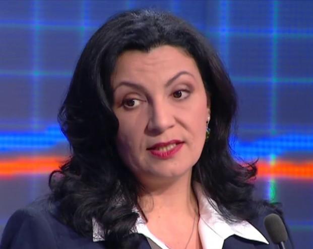 Вице-премьер Украины оскандалилась на немецком ТВ