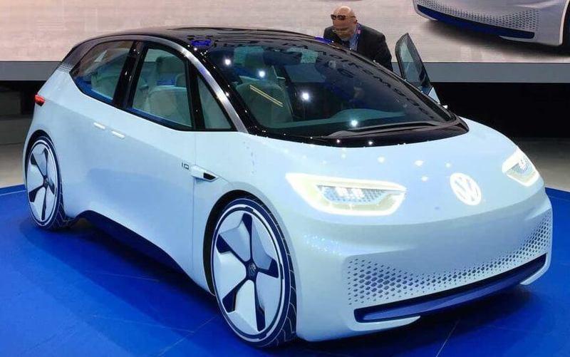 Volkswagen: новые подробности об электромобиле I.D