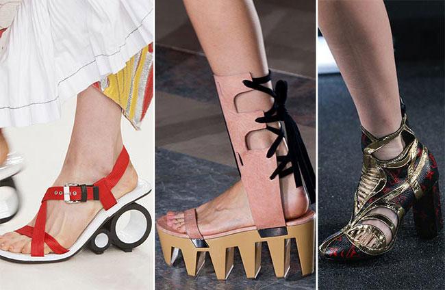 Модные туфли весна-лето 2 16: актуальные тенденции