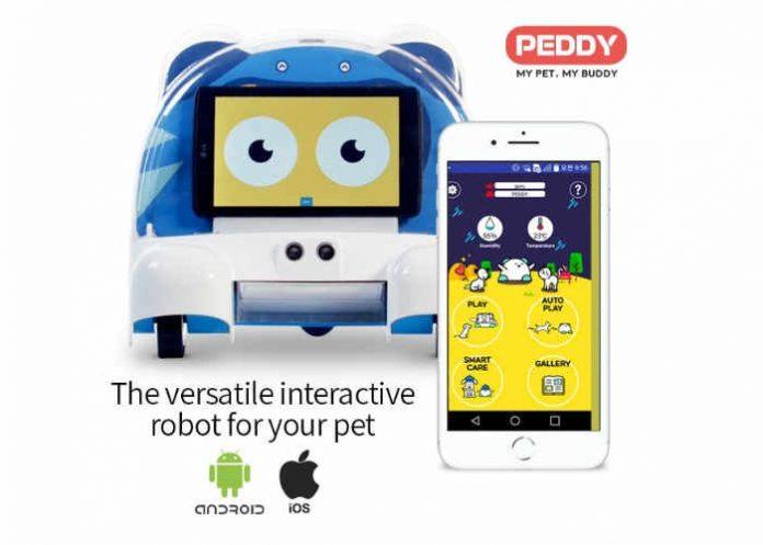 Разработан робот-компаньон для домашних животных
