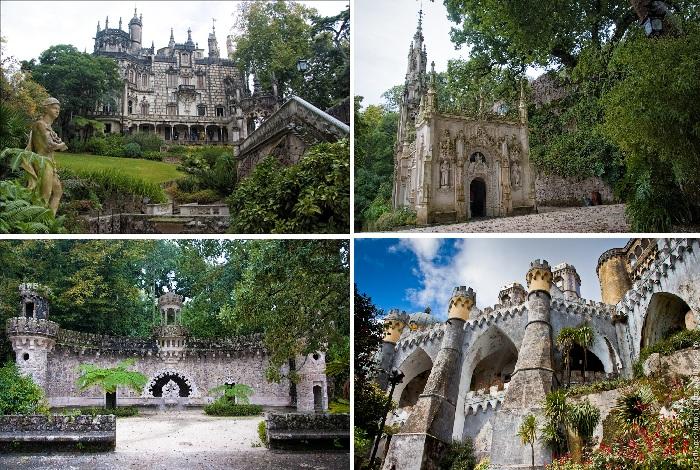Поразительные старинные замки города Синтра (Португалия).
