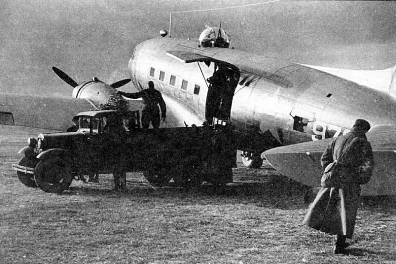 ВВС РККА против Люфтваффе. Транспортные самолёты