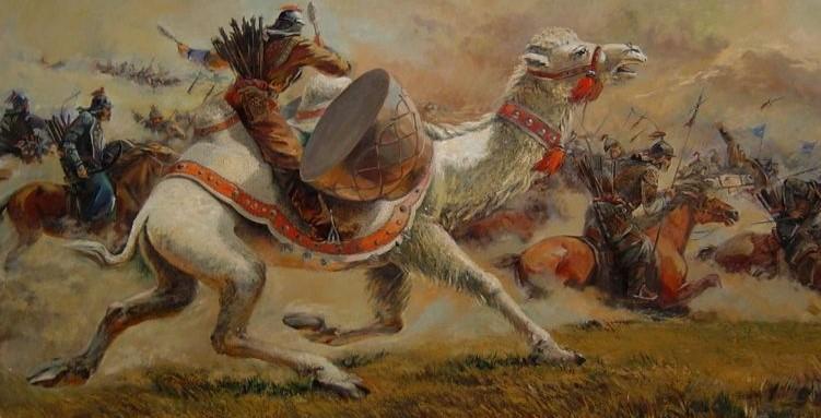 Кого татаро-монголы угощали вареным глазом лошади