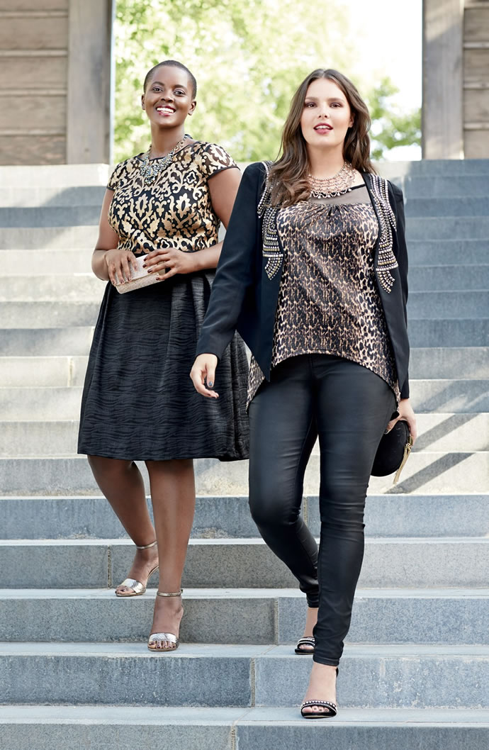 Мода для пышных женщин