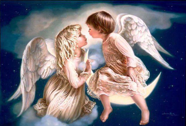 Притча - о том как два ангел…
