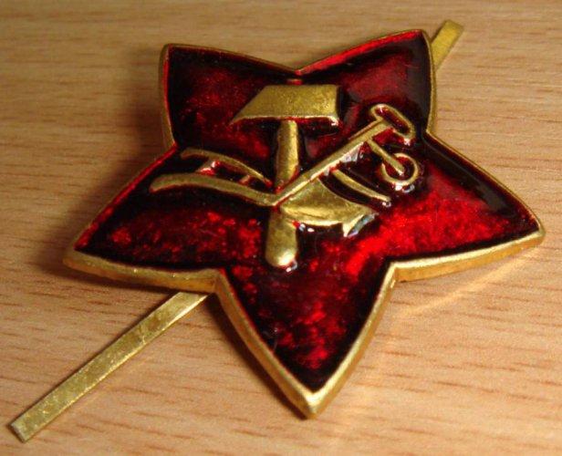 О происхождении большевисткой символики.