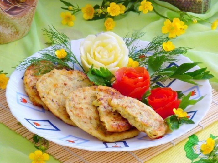 Популярное блюдо в моей семье — Кабачково-сырные оладьи
