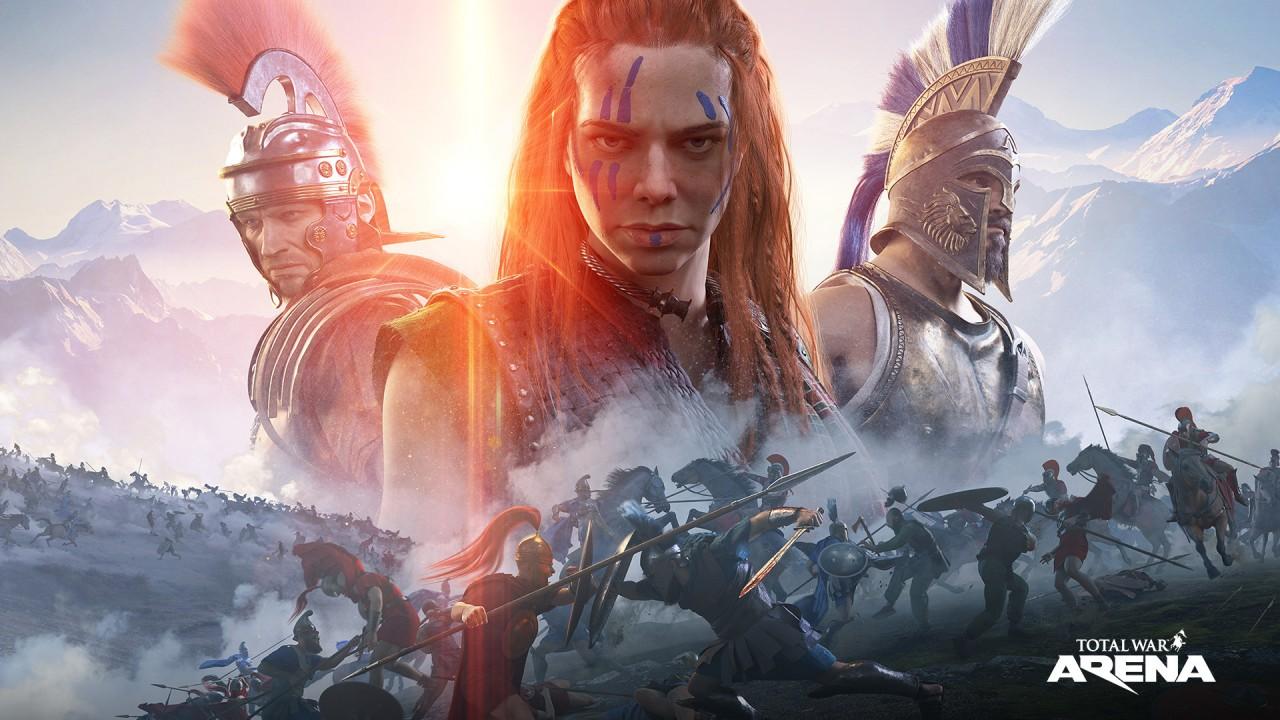 Начался ЗБТ Total War: Arena