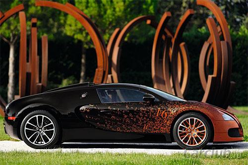 Bugatti представит спецверсию Veyron Grand Sport Venet