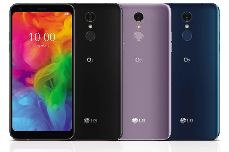 Смартфон LG Q7 с экраном FHD+ FullVision дебютировал в трёх версиях