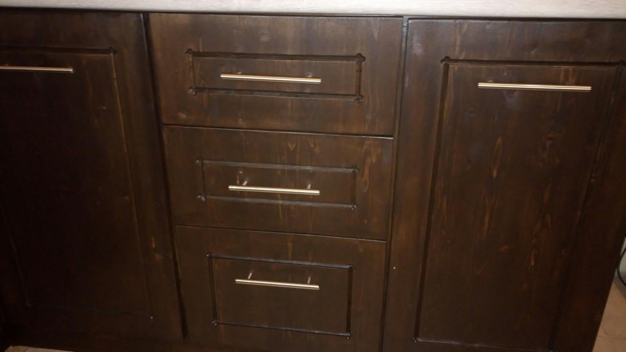Золотые руки: кухонная мебел…