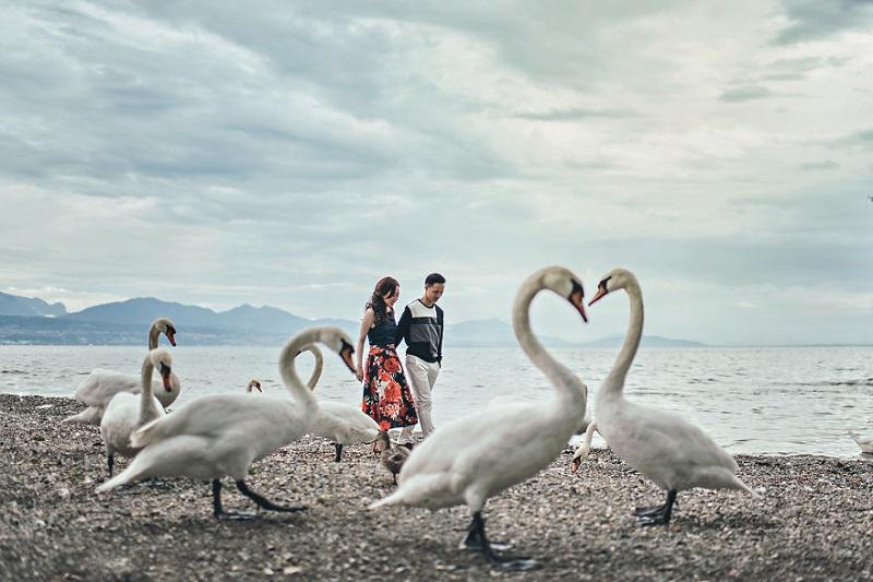 Необычные свадебные фото, где буквально каждое — просто шедевр!