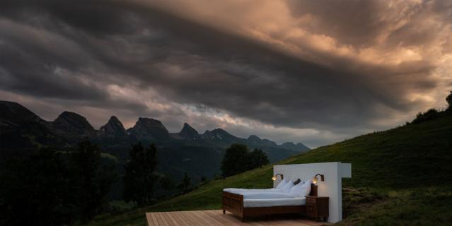 В Швейцарии открылся отель без стен