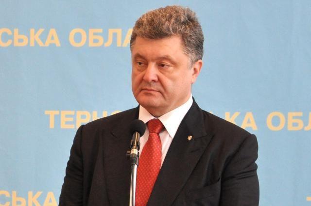 Порошенко поблагодарил генсека НАТО за поддержку целостностности Украины