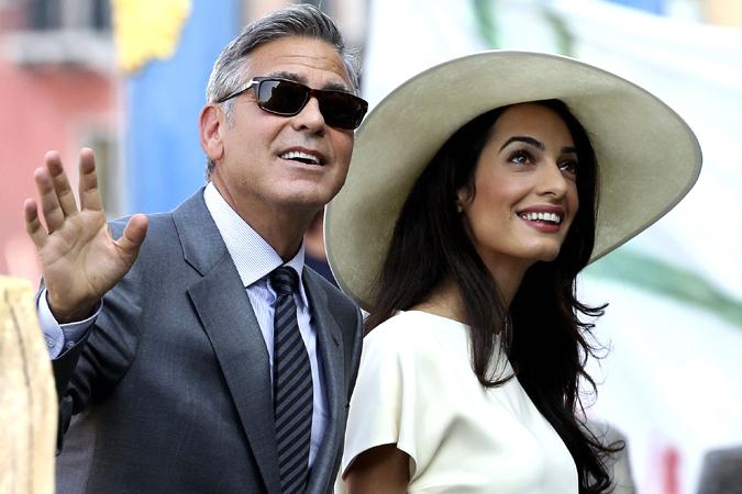 Джордж Клуни разочаровал жену своим поведением в постели