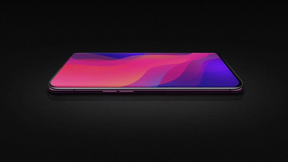 OPPO представила полностью безрамочный смартфон Find X