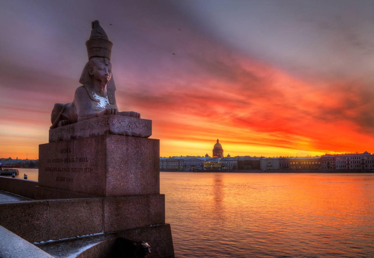 9 египетских достопримечательностей Санкт-Петербурга и их мистические истории