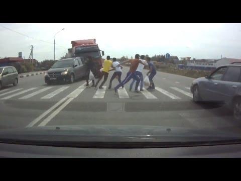 Самые страшные аварии с пешеходами