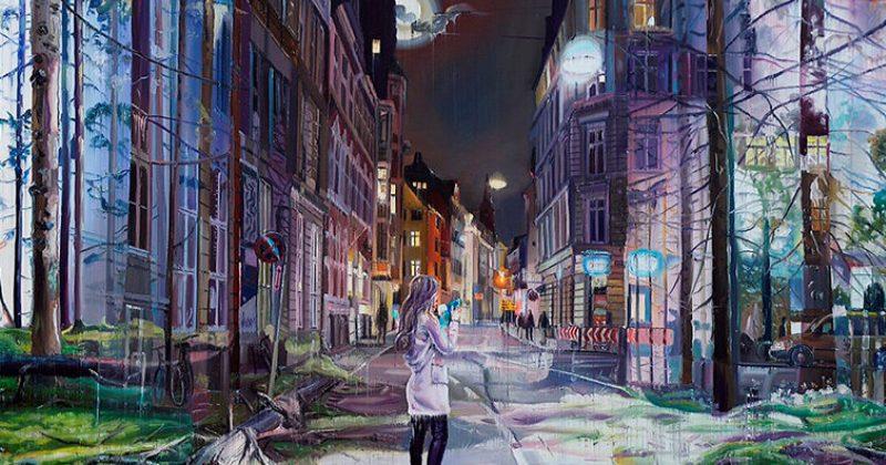 Сны, реальность, запустение иурбанистика вфантастических картинах художника Джейкоба Брострупа