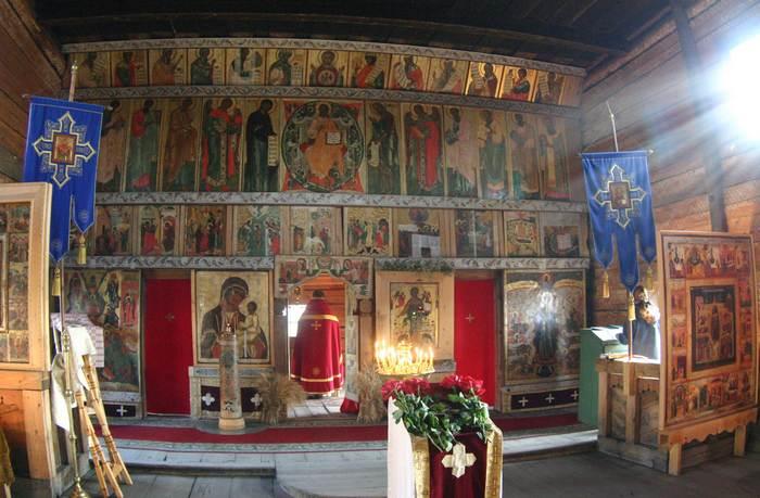 Иконостас в Преображенской церкви. | Фото: img1.liveinternet.ru.