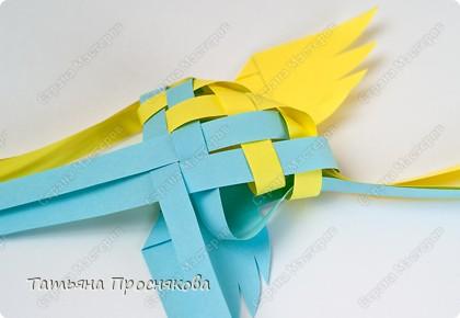 Мастер-класс Поделка изделие Плетение Плетёные птички Бумага фото 19