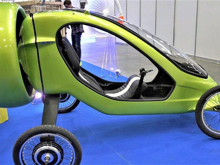 В России представили первый летающий электромобиль