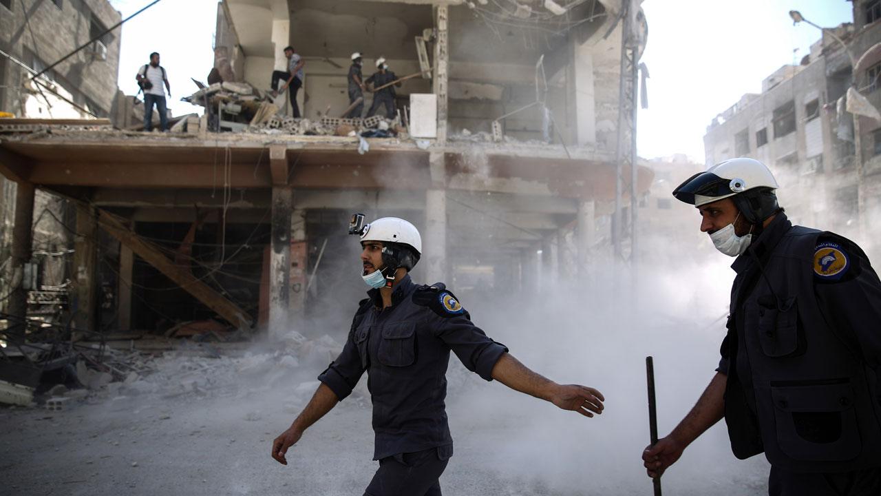 «Белые каски» отравились в Сирии своим реквизитом