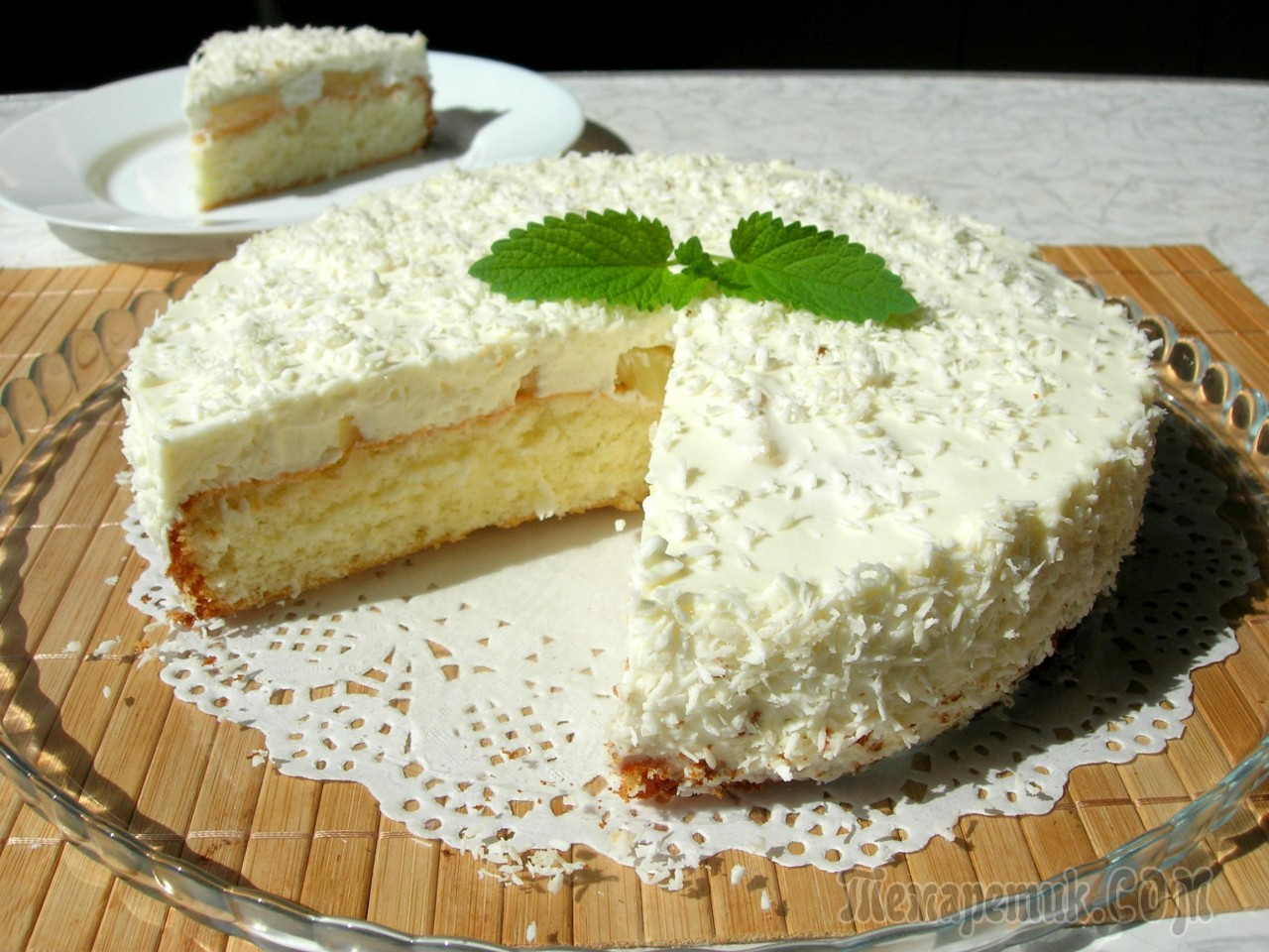 Торт «Пина колада» на основе…