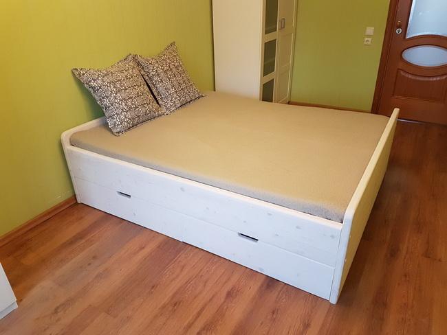 Кровать с выдвижными ящиками…