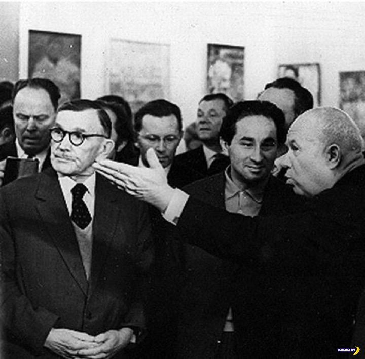 Та самая картина, что выбесила Хрущева