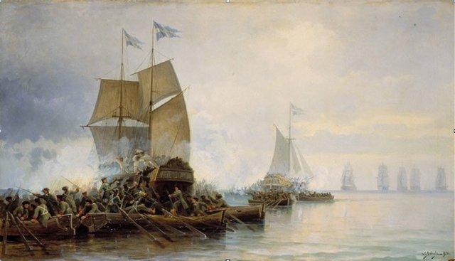 """""""Небываемое бывает"""". День Балтийского Флота."""