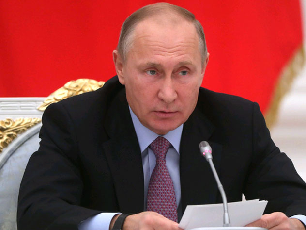 Путин сравнил строгую моногамию с идеалом ленточного червя