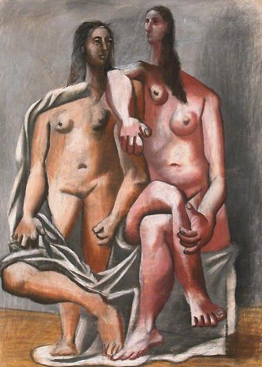Пабло Пикассо. Две купальщицы. 1920 год