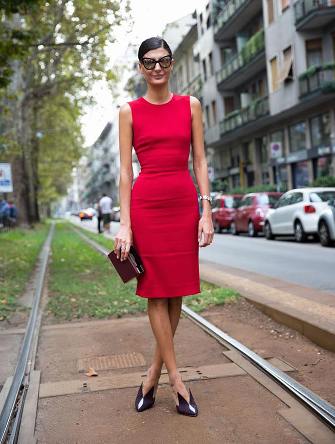 Коктейльное платье с чем носить