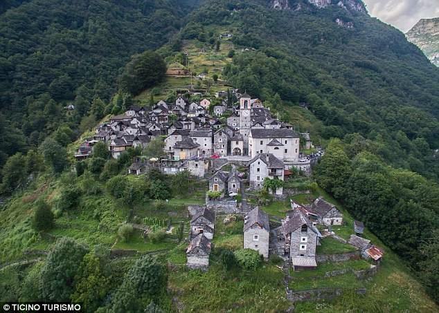 600-летняя швейцарская деревушка борется за выживание