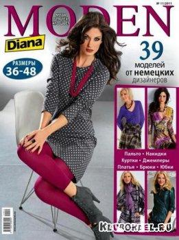 Diana Moden №11 (ноябрь / 2011) + выкройки
